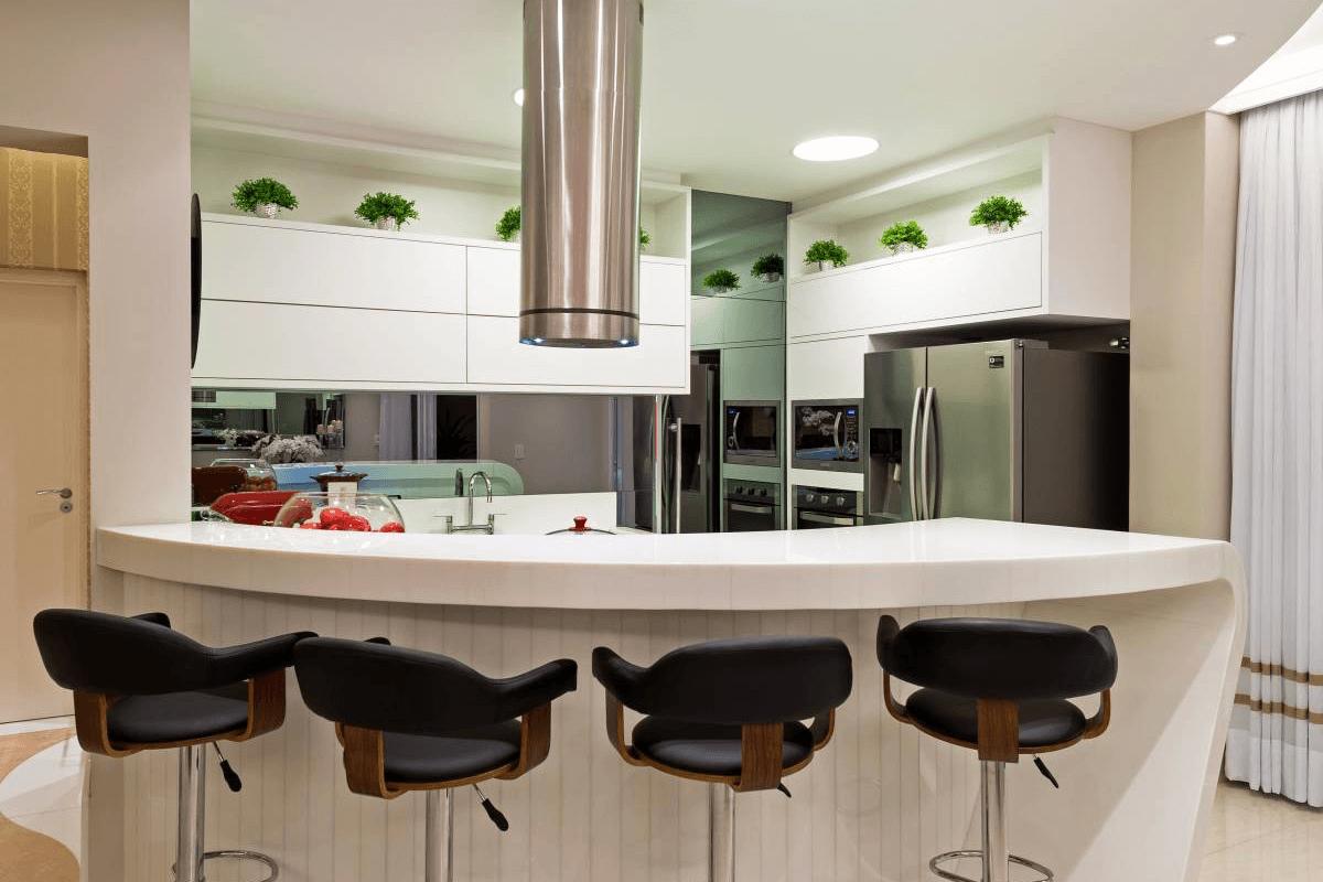 Armário de Cozinha Planejado Bancada