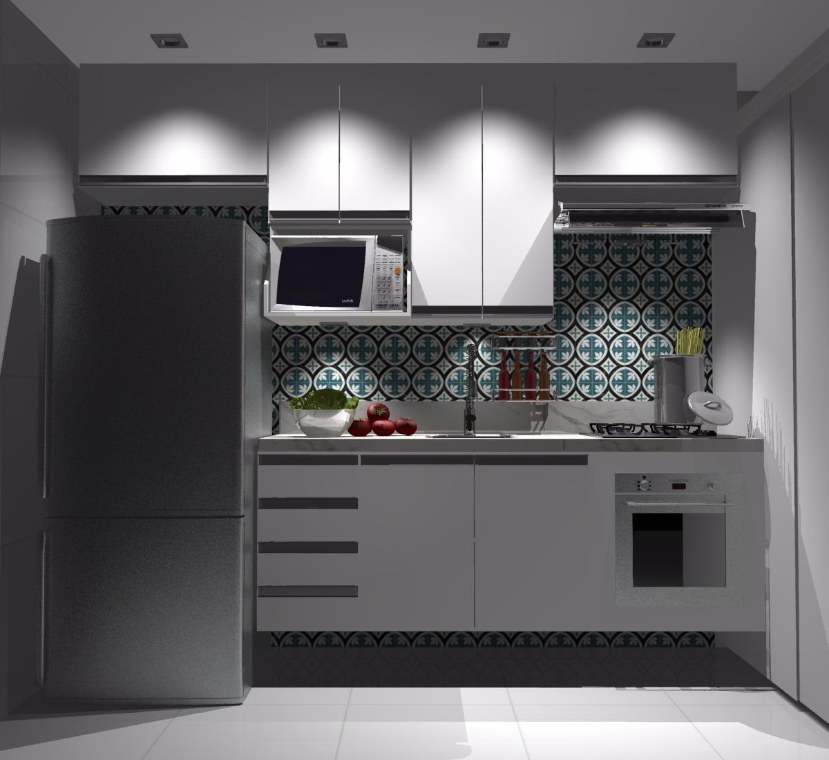 Armário de Cozinha Planejado Simples