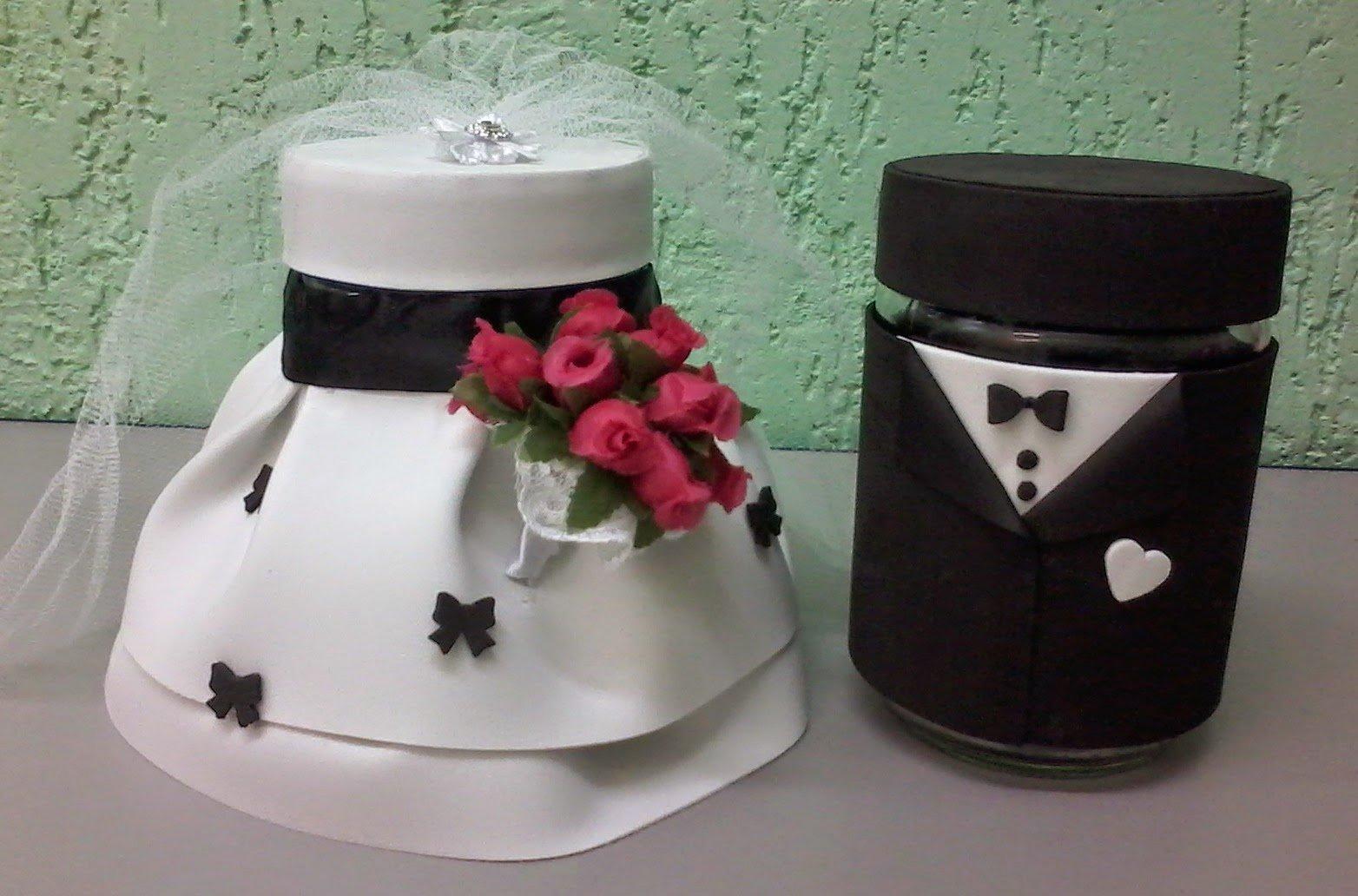 Lembrancinhas de Casamento Criativas