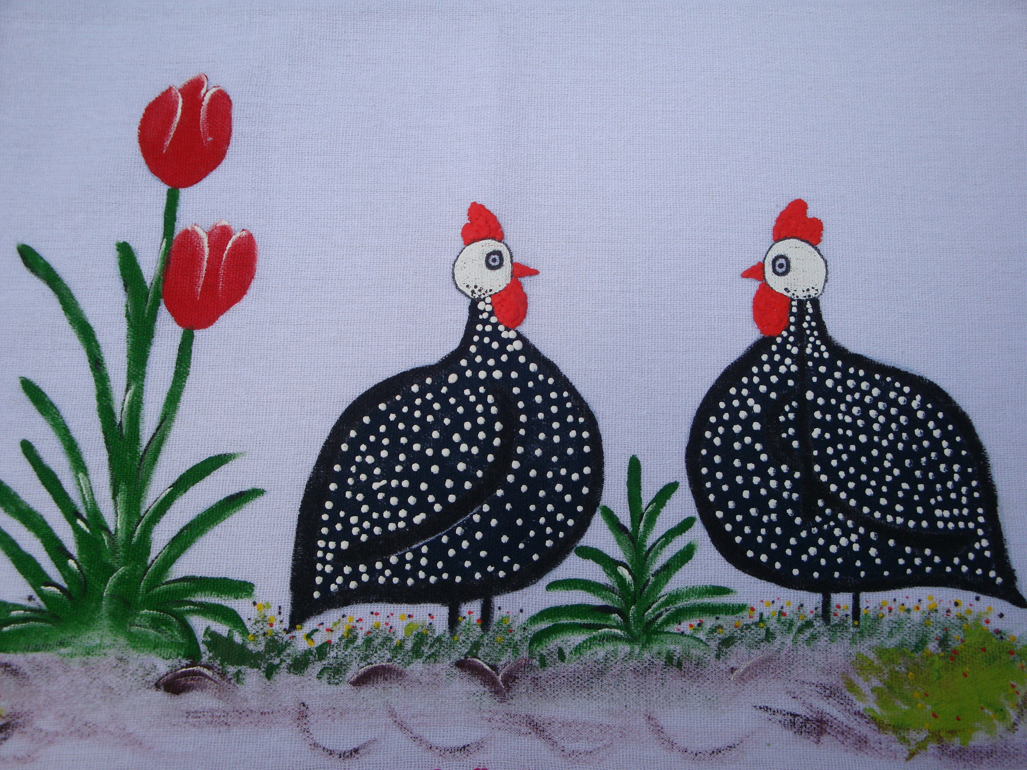 Para Pintura em Tecidos pano de prato