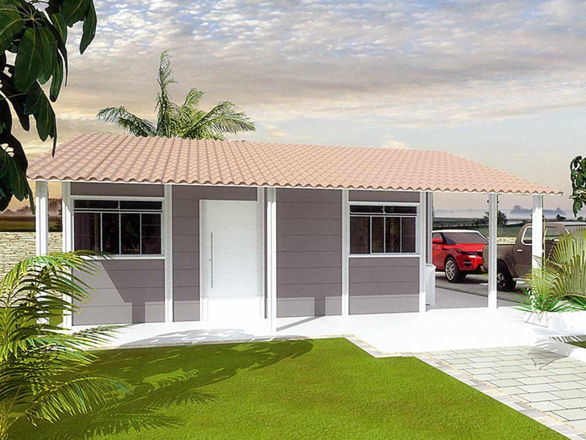 Casa de Alvenaria Pré-fabricada