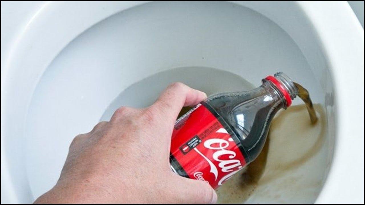 Como Desentupir Vaso com Coca Cola