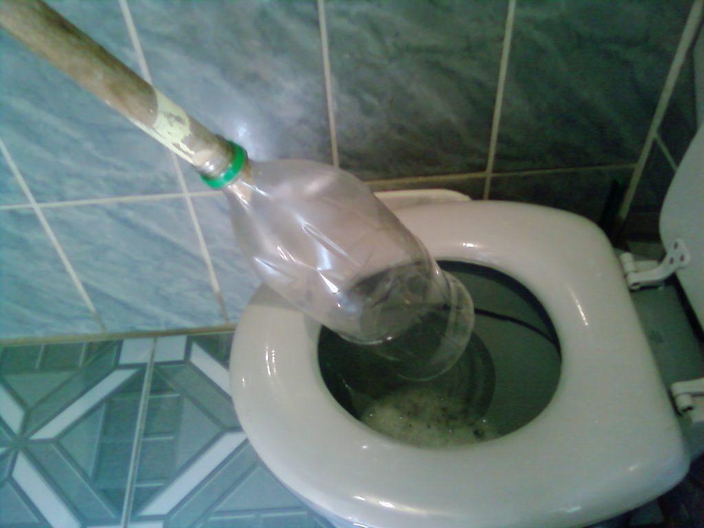 Como Desentupir Vaso Sanitário Com Garrafa Pet
