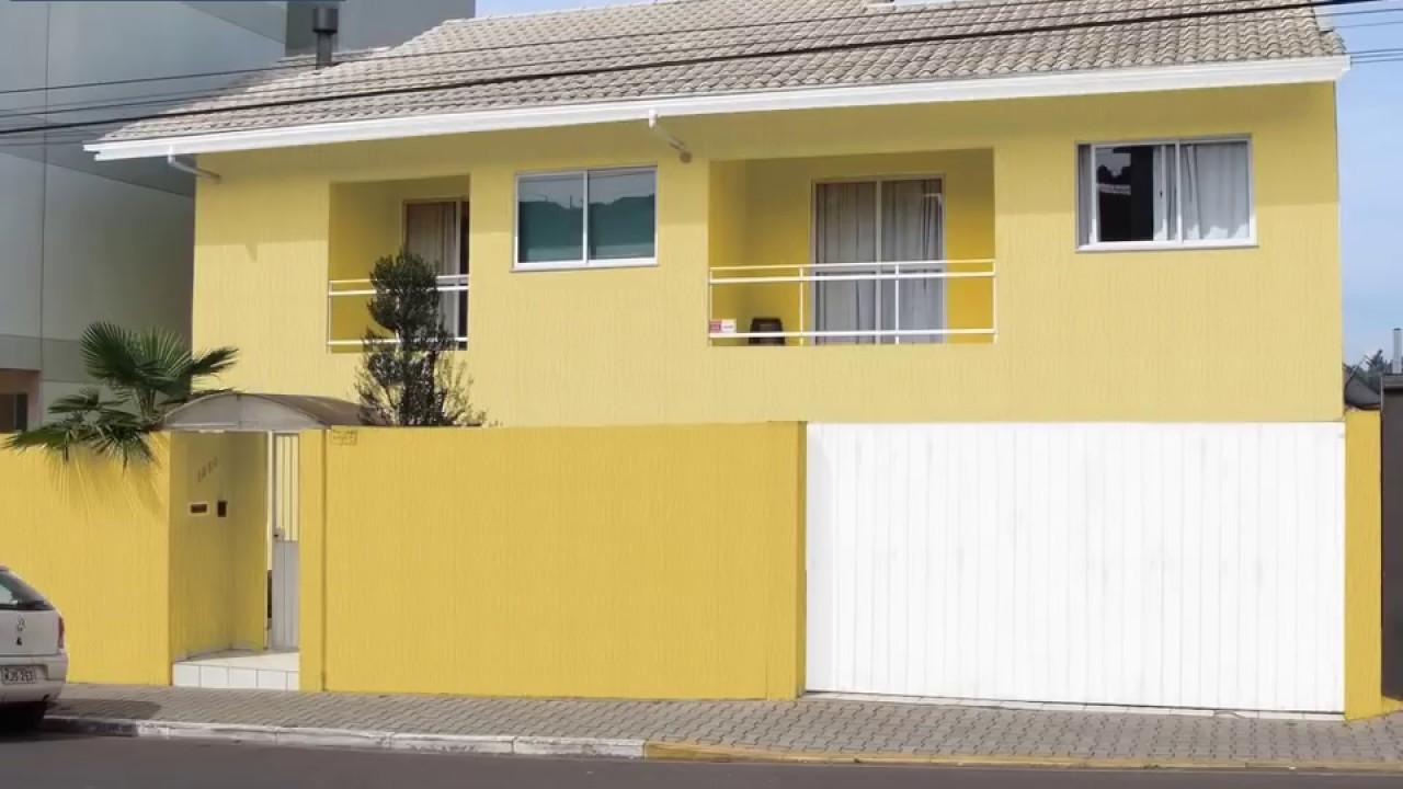 Cores de Casas Por Fora