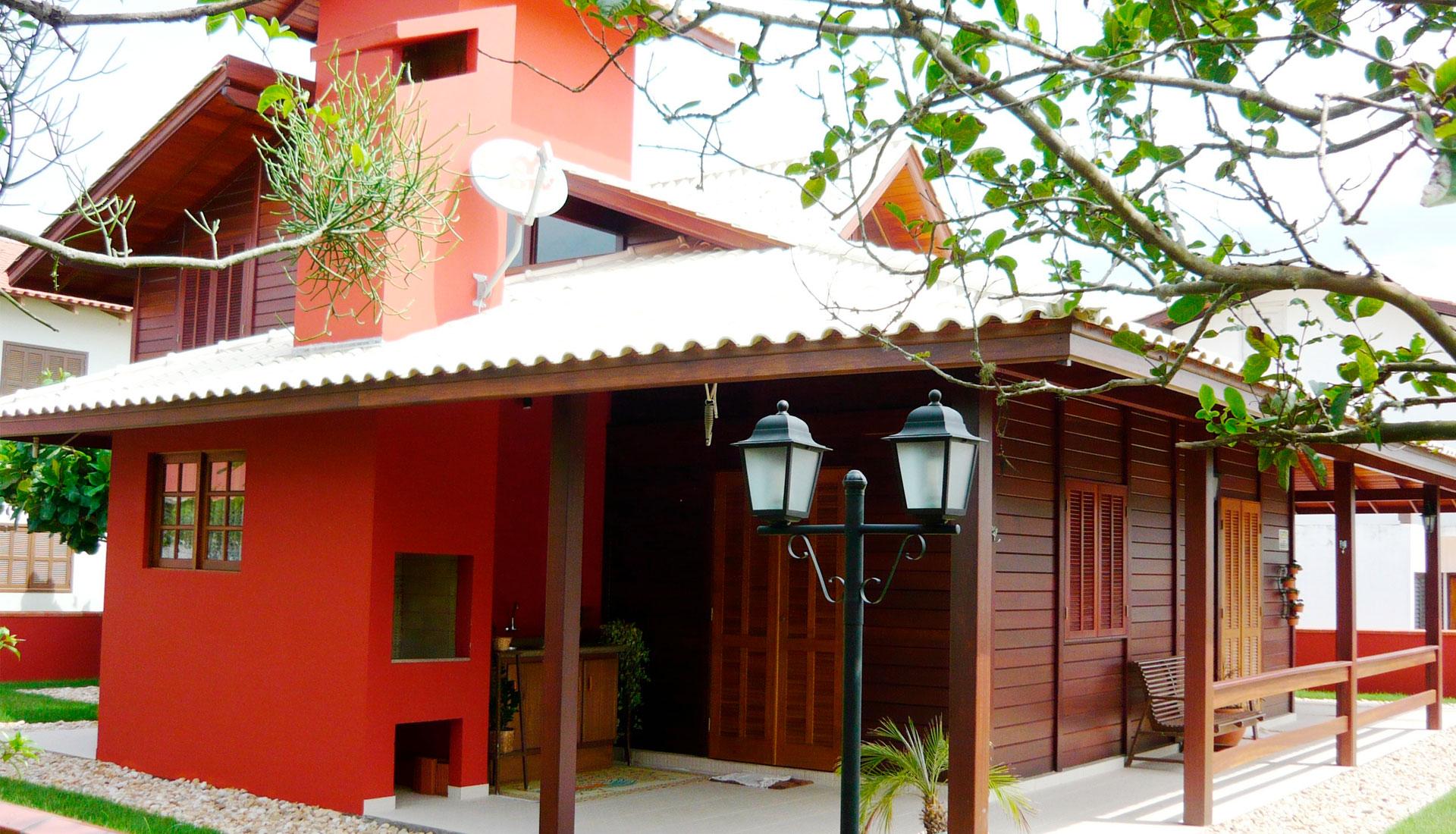 Cores de Casas de Madeira