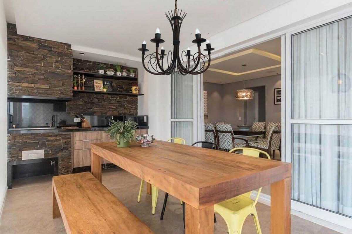 Cozinha Rústica Moderna
