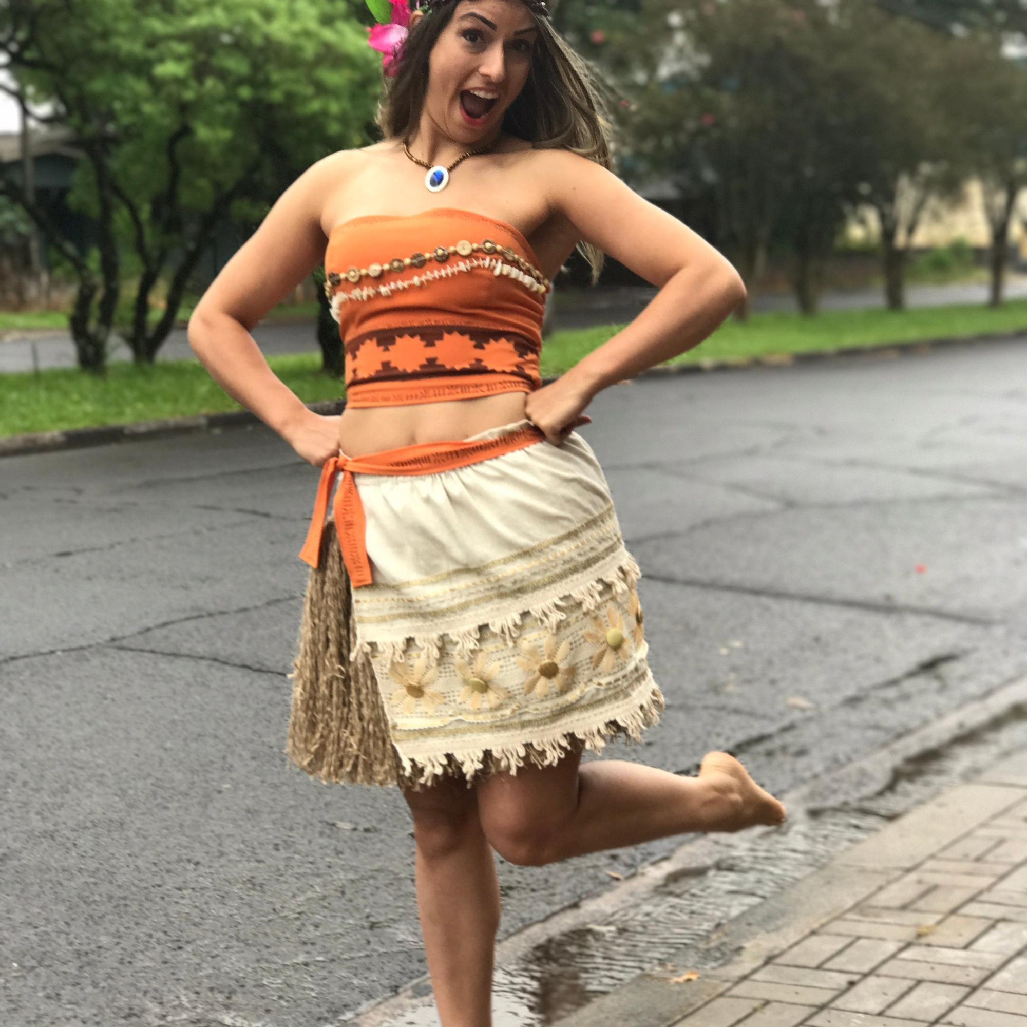 Fantasia de índia Carnaval