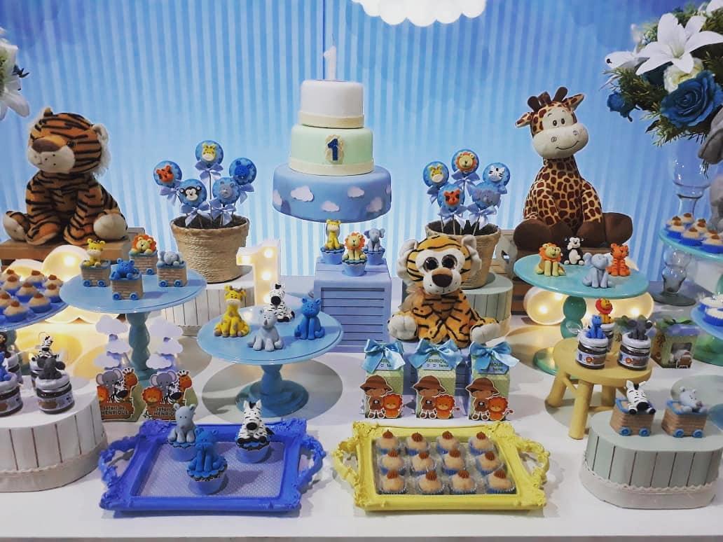 Festa Safari 1 Ano