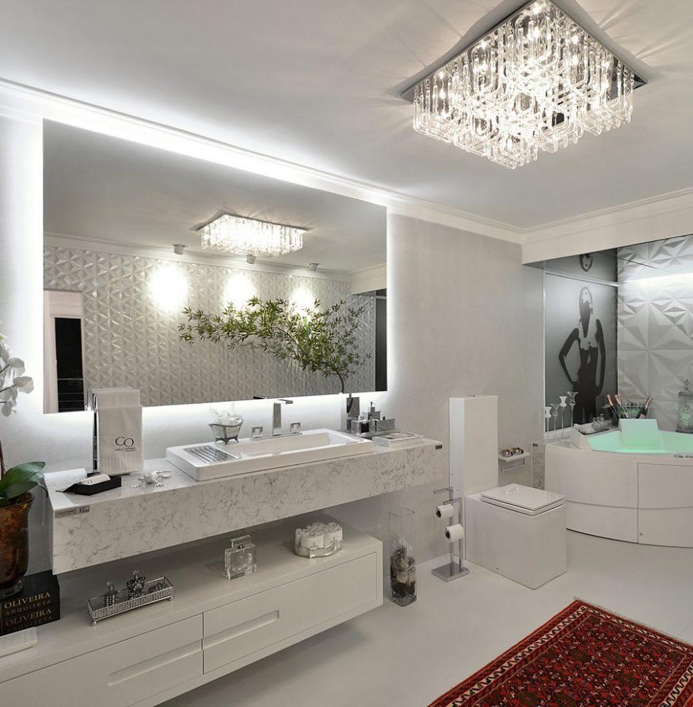 Luminaria Plafon Para Banheiro