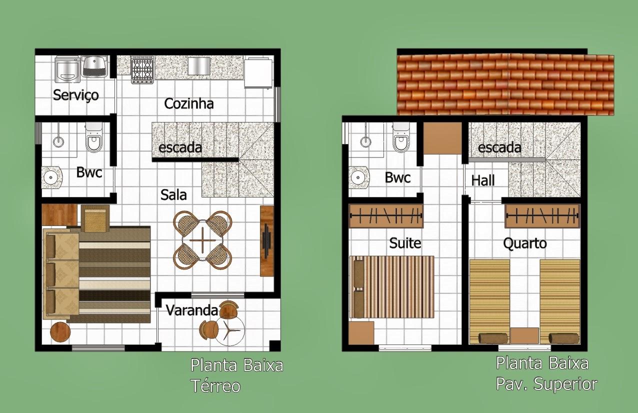 Plantas de Casas Duplex