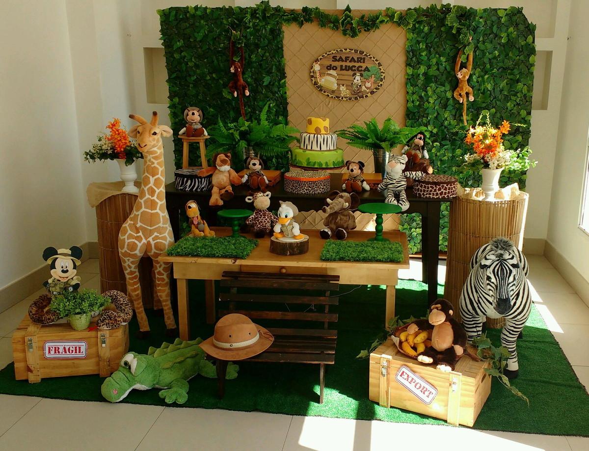 Decoração de Festa Safari