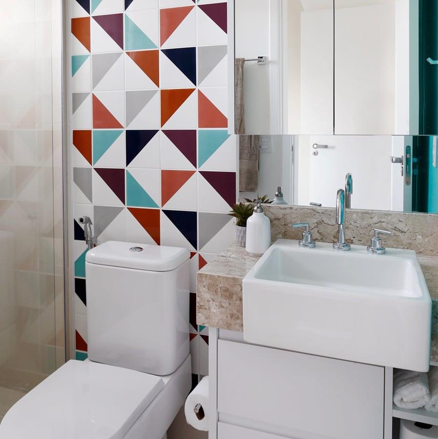 Cerâmica Para Banheiro Pequeno