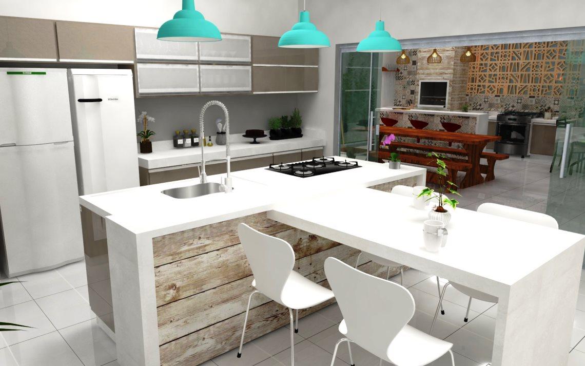 Cozinhas Modernas Com Ilhas