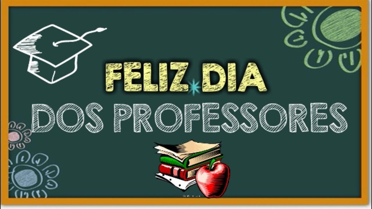 Qual o Dia dos Professores 2019