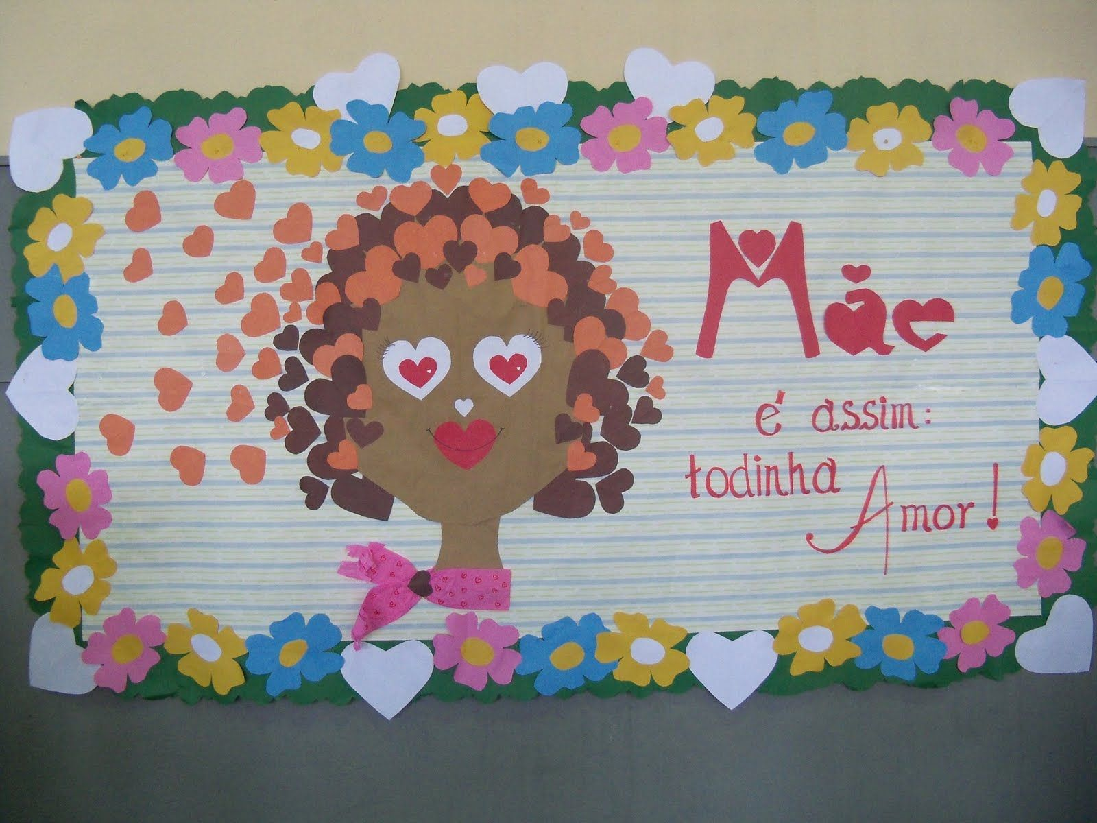 Painel Dia das Mães Educação Infantil