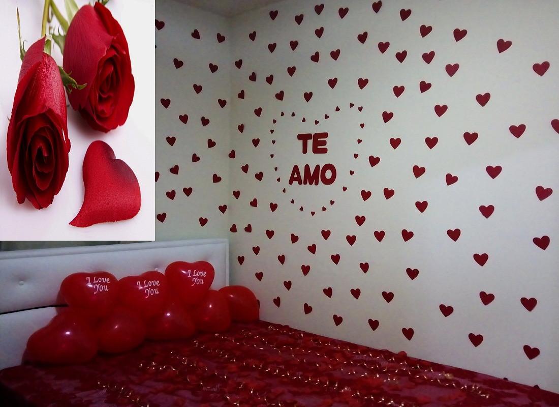 Surpresa Para Namorado no Quarto Simples e Criativa