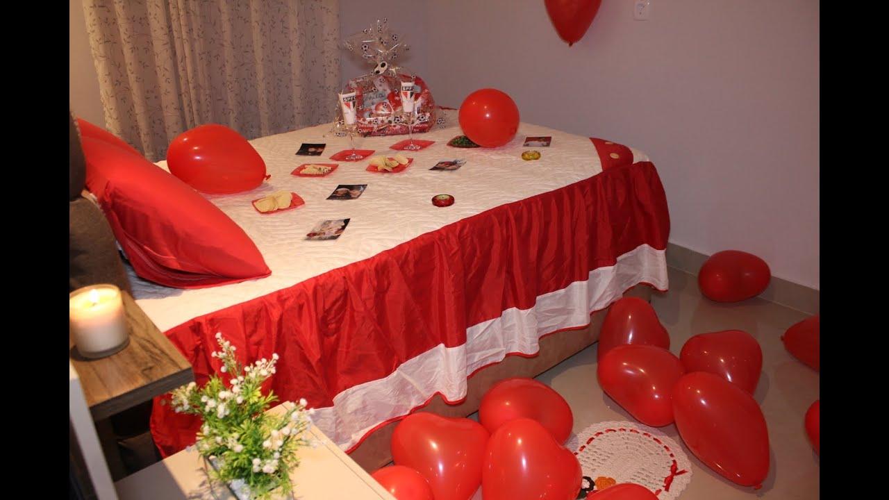 Surpresa Para Namorado no Quarto dia dos Namorados