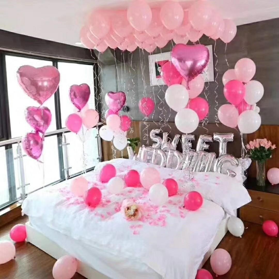 Surpresa para Namorado no Quarto de Aniversário