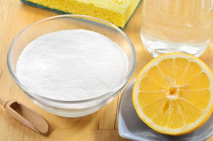 Sal e Limão para Remoção de Manchas