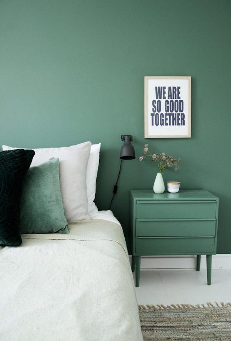 Cores Para Quarto de Casal azul e verde