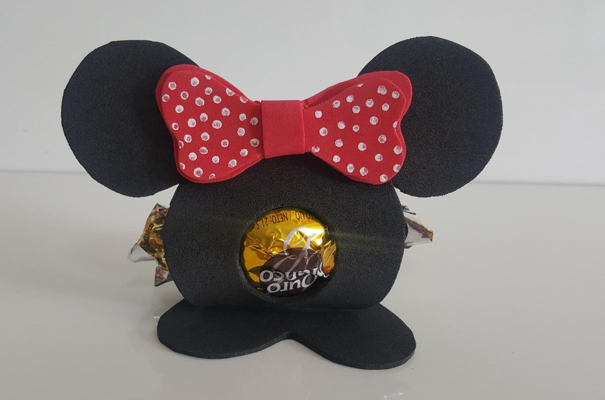 Decoração da Minnie em EVA