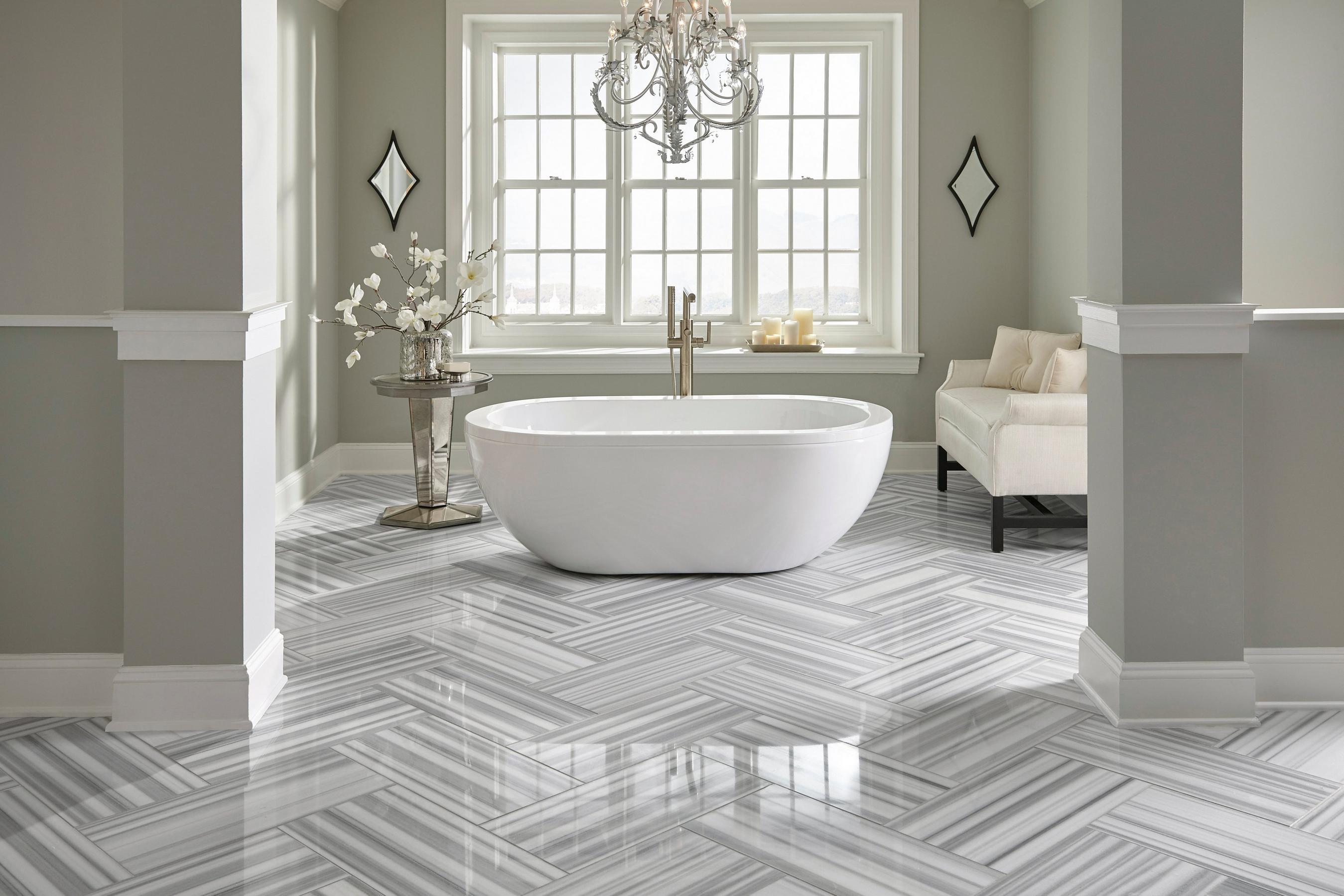 Porcelanato Para Banheiro Cinza