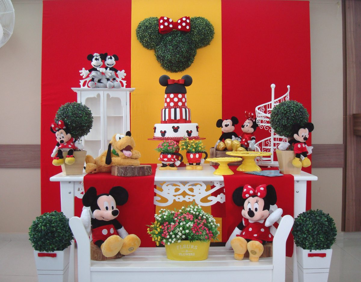 Decoração da Minnie Vermelha