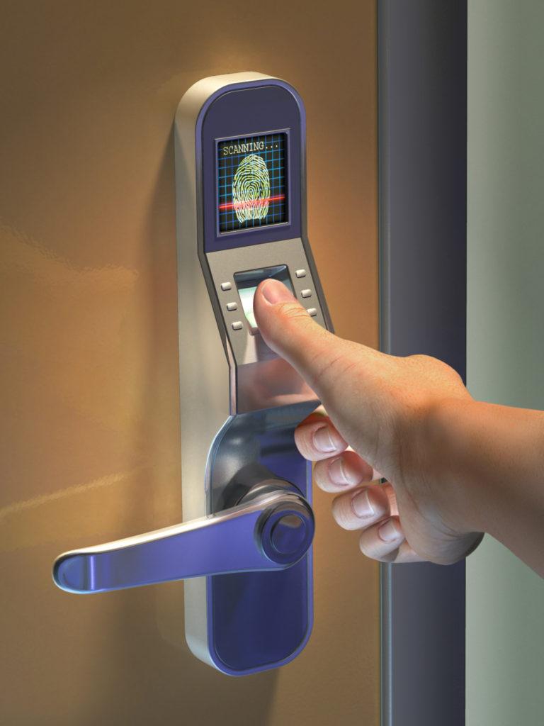 Fechadura Digital biométrica