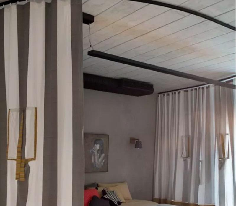 Divisórias de ambientes tipo cortina