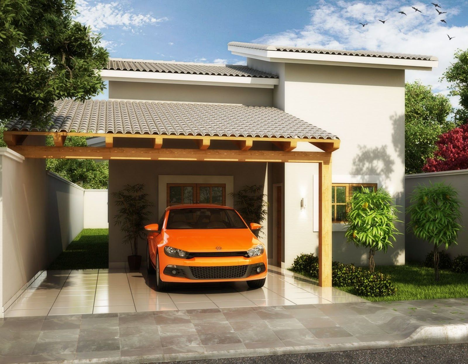 Caramanchão Garagem