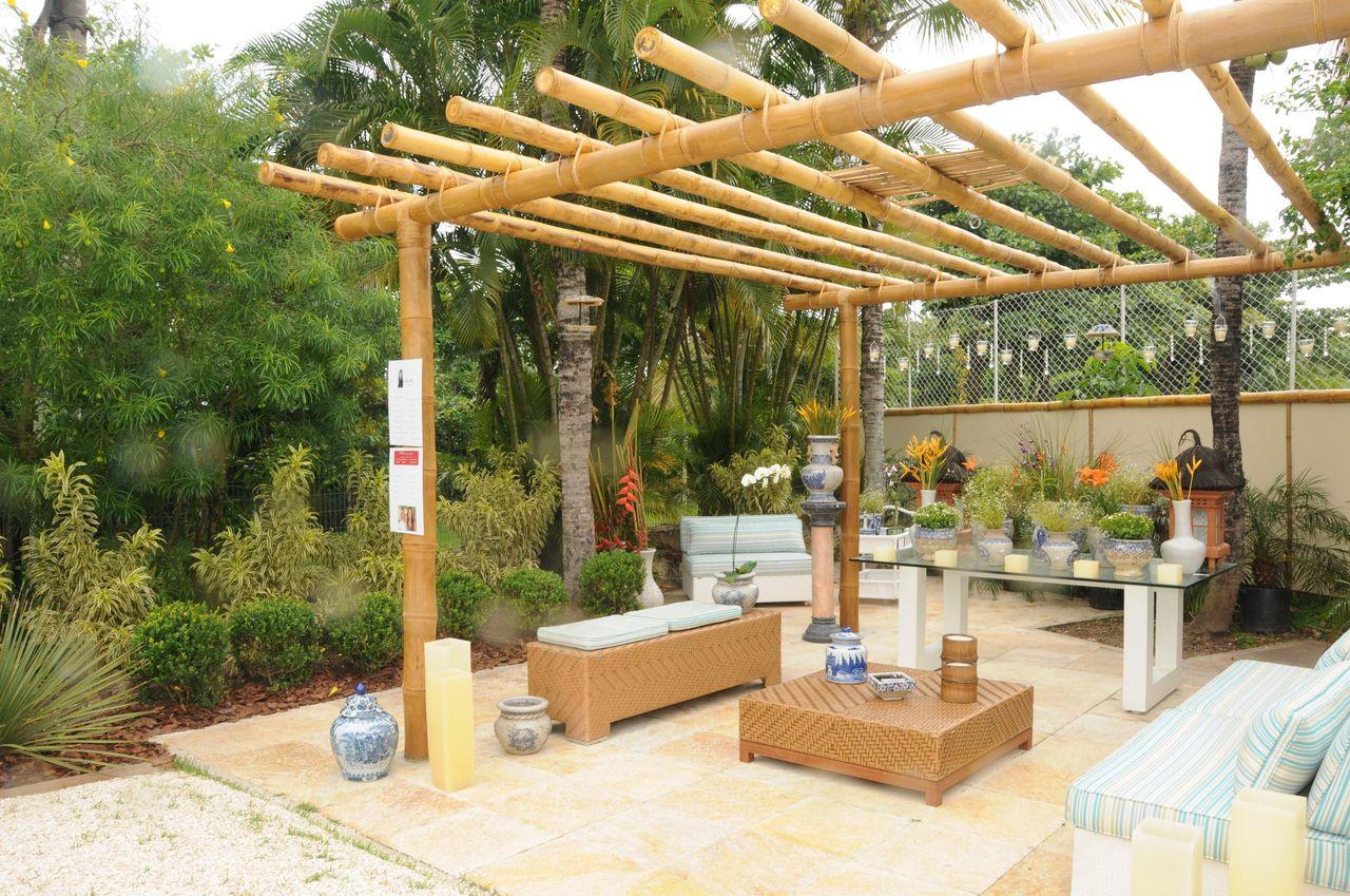 Caramanchão de Bambu