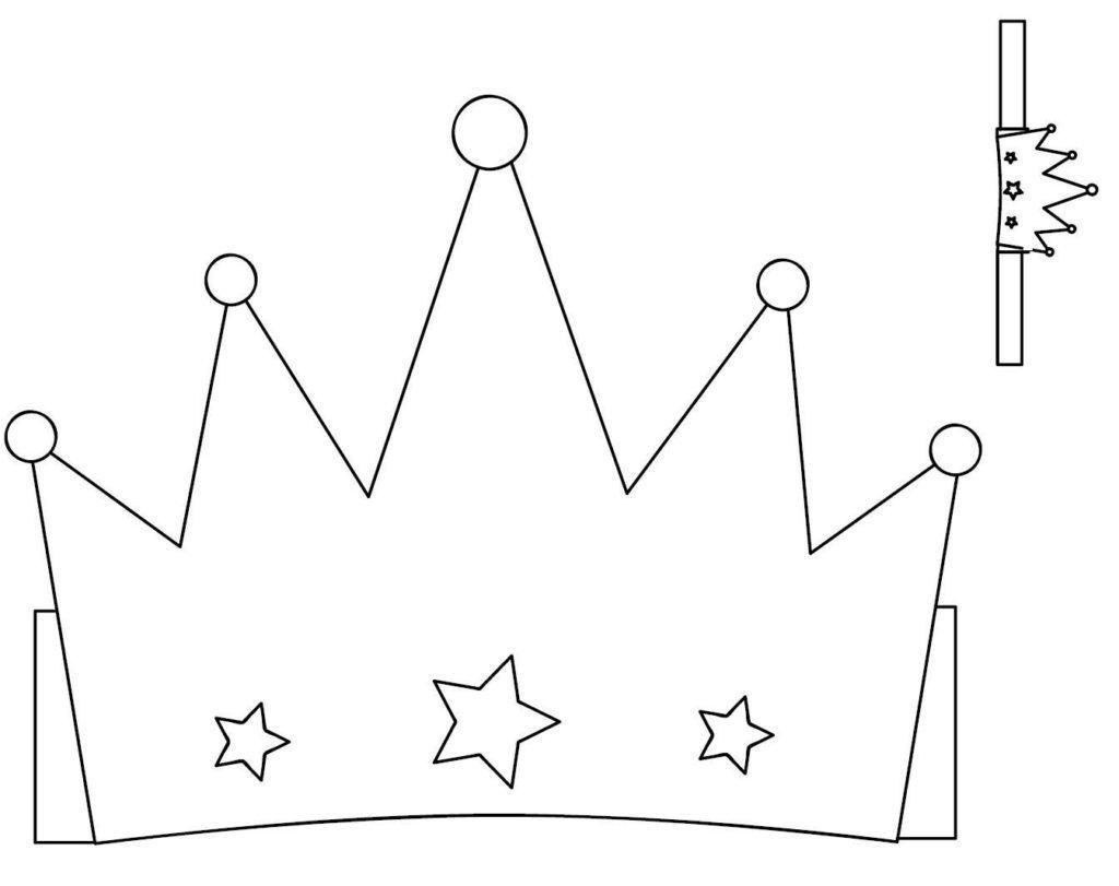 Molde de Coroa de Feltro
