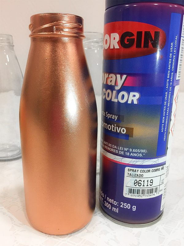Tinta Spray Rose Gold