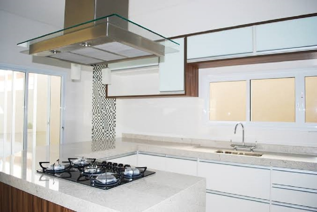 Granito Branco Itaúnas na Cozinha