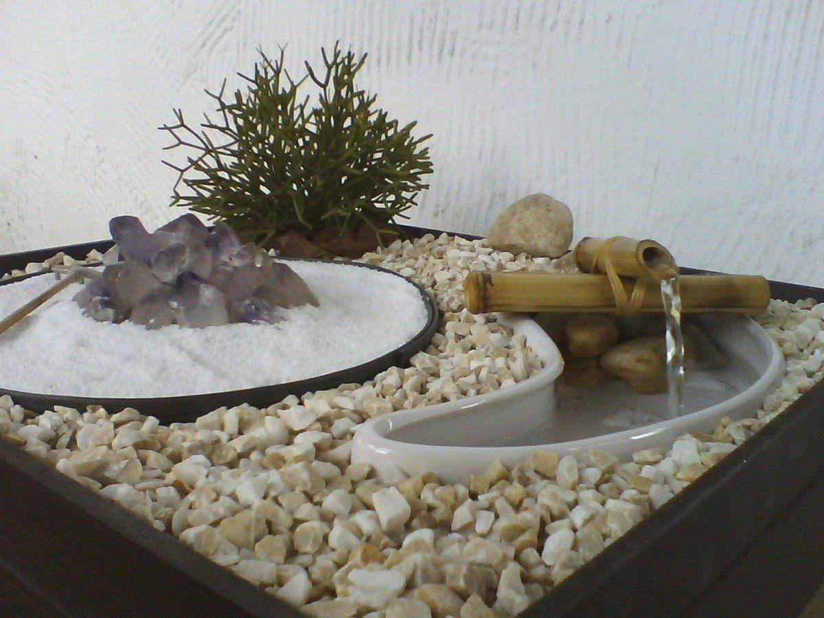 Jardim Zen Com Fonte