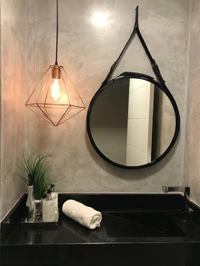 Decoração Com Espelho Adnet no Banheiro/lavabo
