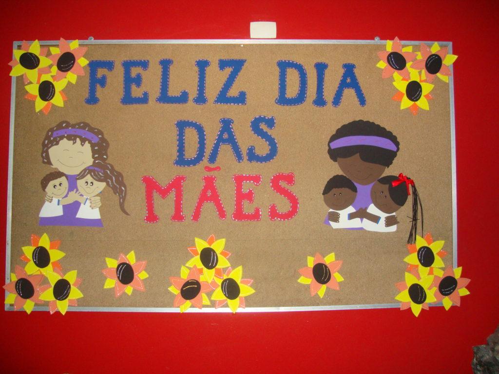 Mural Dia das Mães Educação Infantil