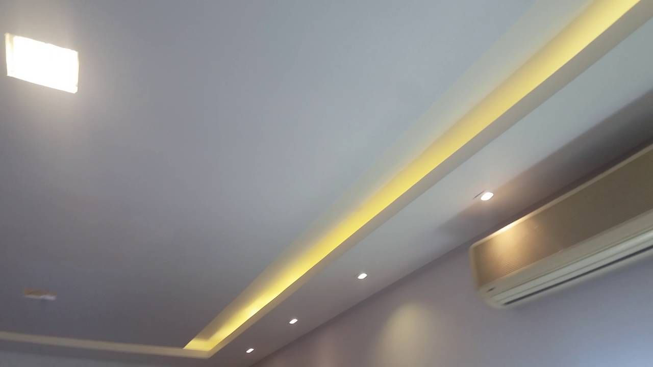 Sanca Aberta com LED