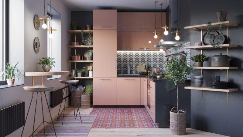 Cozinha Moderna de Canto em L