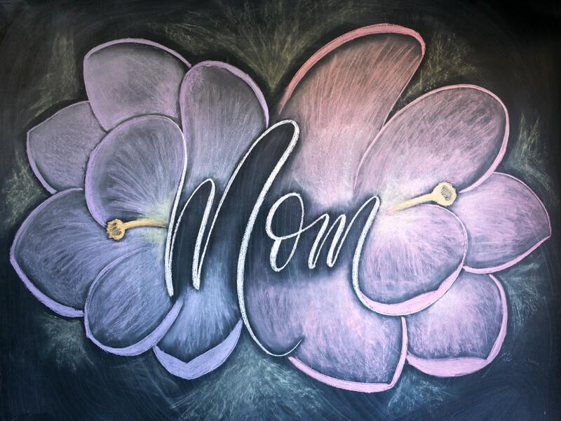 Ideias de Mural de Dia das Mães