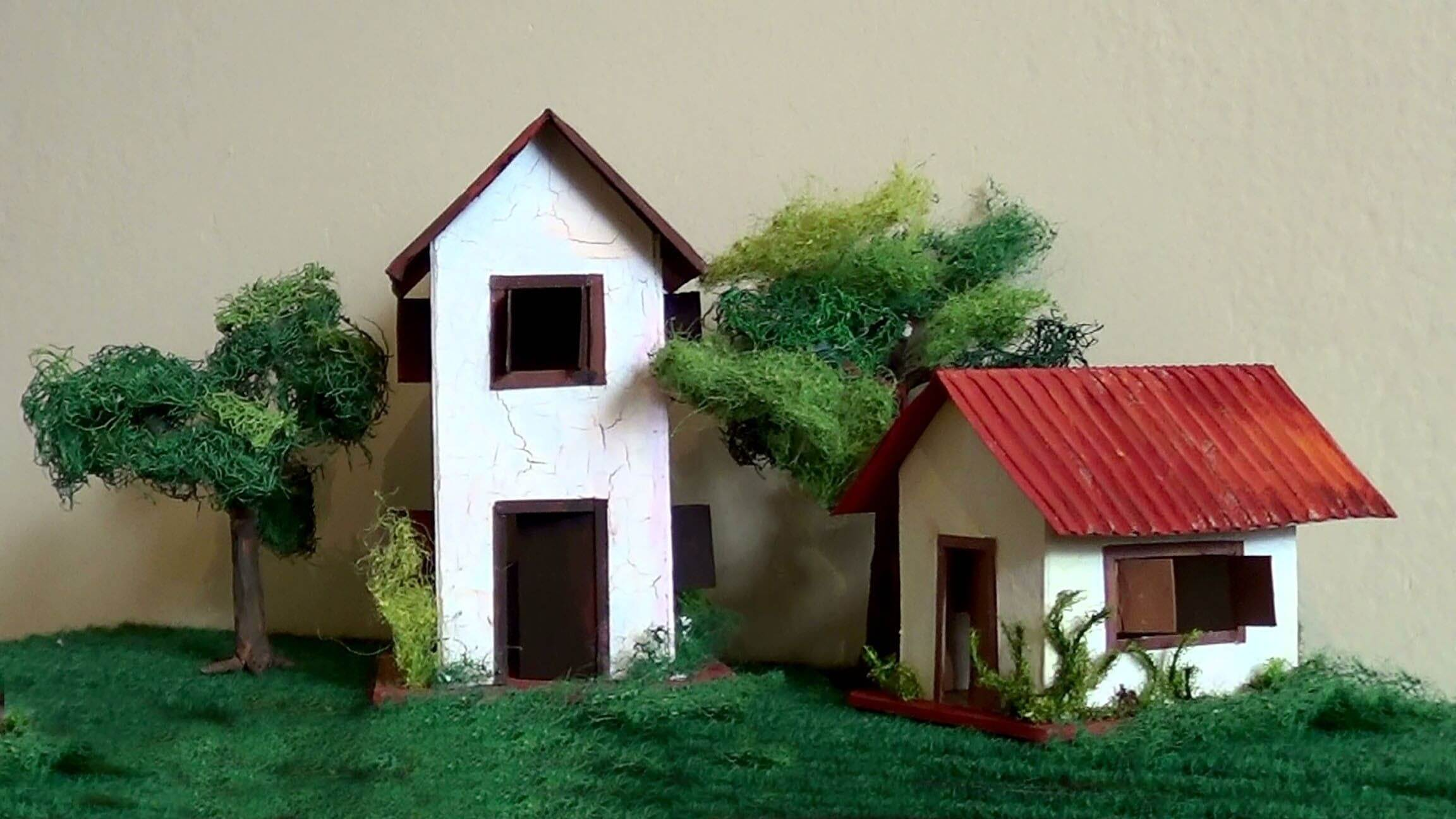 maquetes de casas para trabalho escolar