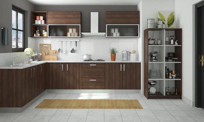 Projeto de Cozinha simples em L