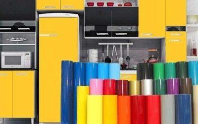 Adesivo para envelopamento de móveis