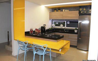 Bancada de cozinha laqueada