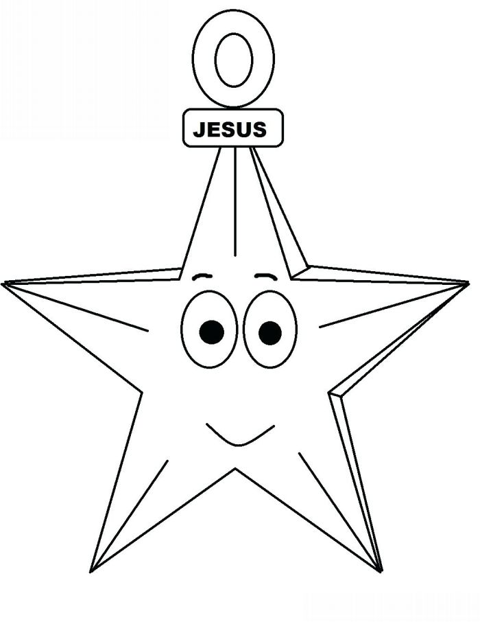 Molde de estrela de natal
