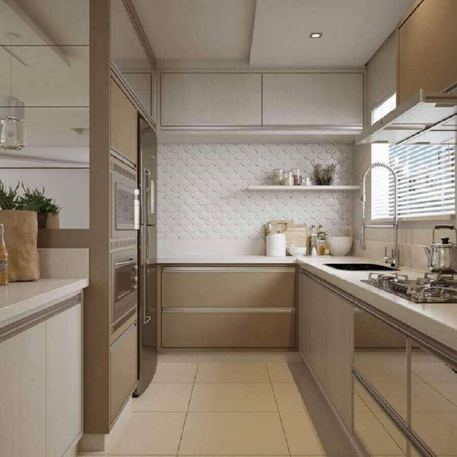 Bancada de cozinha de granito Branco