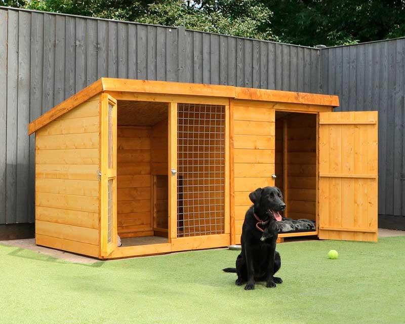 Canil de madeira para Cachorro