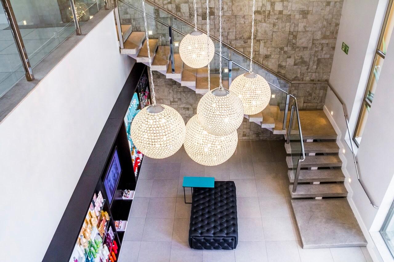 Escada Granito Branco Siena