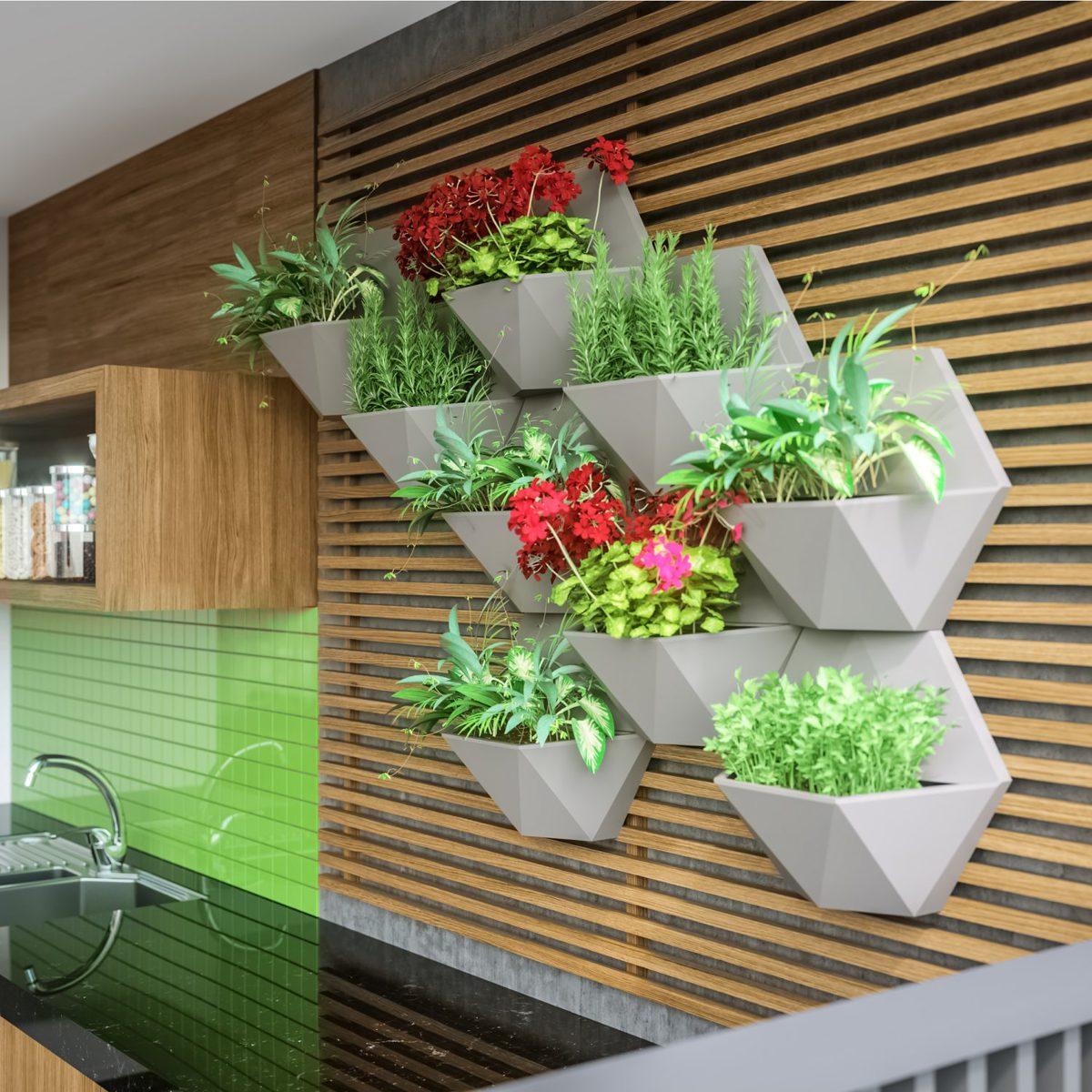 Floreira de Parede de concreto