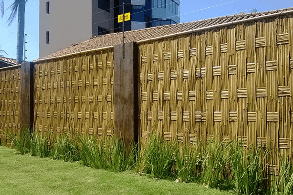 Muro de Madeira Para áreas Externas